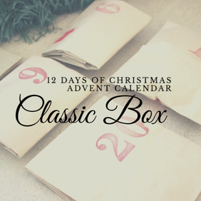 12 Days of Christmas Advent Calendar - Classic Box